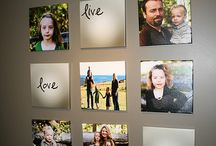 WALL GALLERY IDEAS / Get ideas for planning out your own portrait wall gallery!