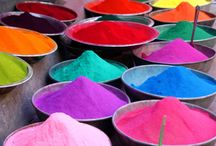 Holi Party Ideas / Splashes of ideas and colours for your next Holi party!