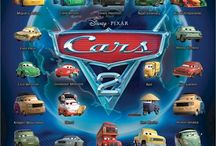 Disney Cars Character Names  / by Gretchen Kyte