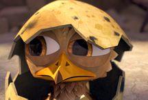Gus - Petit oiseau, grand voyage / Premier long-métrage d'animation 3D des studios français TeamTO.