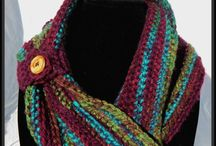 Handmade Crochet Cowls and Scarves / Handmade cowls, scarves, and infinity scarves!