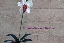 gehaakte orchidee