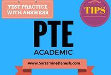 نمونه سوالات آزمون pte به همراه پاسخ