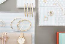 ♥ ORDNUNG / Ordnung schaffen, Sortieren und Organisieren! Mit dem richtigen Werkzeug und hübschen Boxen fällt das ganz leicht.