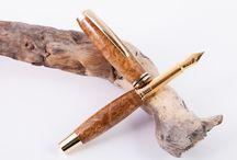 Edle Füllfederhalter aus Holz / Hier findet ihr die von mir in Handarbeit gedrechselten Füllfederhalter meiner Exclusiv-Edition aus feinsten Hölzern und hochwertigsten Komponenten!