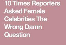 Feminist clapbacks