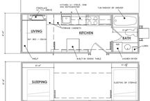THOW Floor Plan Examples / Have a look at possible floor plans. We are Planet Structures can build whatever you like. We will make a floor plan that will fit your needs and your wants.