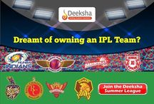 Deeksha Summer League 2016 / Create your own cricket team and manage it to improve your score. Join, score points, have fun and win exciting prizes everyday! Deeksha Summer League - Where the fun gets real!