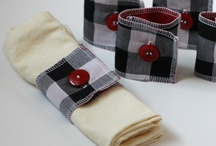 napkin rings / by Treama Reed Couron
