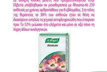 A.Vogel Atrosan® (Rheuma-Tabletten) / Πρόσφατες Γαλλικές και Γερμανικές έρευνες επιβεβαιώνουν την αντιφλεγμονώδη δράση του αρπαγόφυτου. Δύο συστατικά του αρπαγόφυτου, η αρπαγοξίθη και η β-σιτοστερόλη έχουν αντιφλεγμονώδεις ιδιότητες, αλλά μελέτες απέδειξαν ότι η χρήση ολόκληρου του φυτού είναι αποτελεσματικότερη.  Επειδή το αρπαγόφυτο διαθέτει ισχυρές αποτοξινωτικές ιδιότητες (αντιμετωπίζει φλεγμονές σε όλο το σώμα) προτείνεται και η προληπτική συνεχής χρήση του σε χρόνιες παθήσεις.