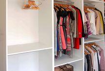 Mobilier de dressing / Modele, compartimentari si idei de mobilier de dressing!