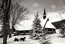fekete fehér karácsony