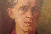 """JEF SCHIPPER 1910 - 1967 / Werken van mijn """"Beau Grand-Père"""" en bekend Maastrichts kunstschilder die jarenlang een atelier had in de Helpoort."""