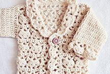 Casaquinho de trico para recem nascida