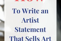 artist statement to sell art