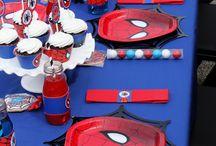 Birthday Party - Super Heros / Birthday Party
