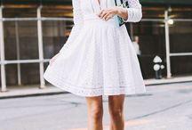 White Night Outfits / Outfit Inspiration für die eine Fête Blanche im Sommer.  #WhiteNight #WhiteAllOver