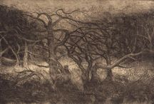 Etchings - Landscape - by David Ladmore