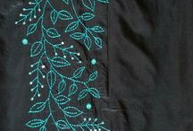 vestidos bordados