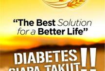 Oribest support hari diabetes nasional 2015
