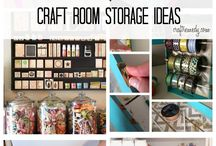 craft room / by Courtney Cubstead