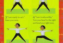 Kid Yoga / Yoga for kids / by Melissa Saenz