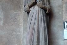 Angelo Annunziante, primo secolo XV. Strasbourg, Musée de l'Oeuvre de Notre-Dame / Angelo Annunziante, primo secolo XV. Strasbourg, Musée de l'Oeuvre de Notre-Dame