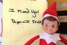 Elf on the Shelf / Elf on the Shelf ideas.