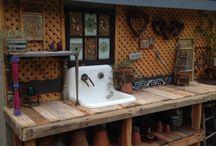 ZAHR Pracovní stůl i s dřezem