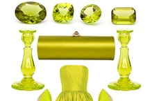 Green with envy / Peridot. Emerald. Green!