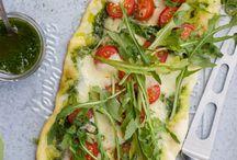 Rezepte:  Pizza und co