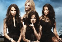 Pretty little liars(PLL) / My FAVORITE SHOW OF ALL TIMES  / by Sydney Herrmann