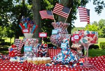 Patriotic Candy Buffet / by Candy Galaxy