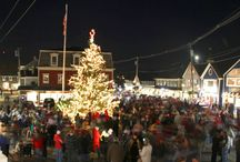Christmas in New England / How and where to get in the Christmas spirit, New England style.