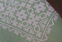 Sardinian knotted lace