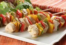 Receitas pouco calóricas / Seleção de receitas de baixa caloria, não dá pra comer só salada, né?!