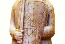 scacchi e scultura antica