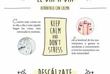 Keep calm and don't stress / Consejos