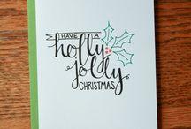 Lettering Kerst
