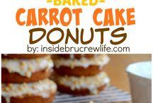 dessert doughnuts cakes