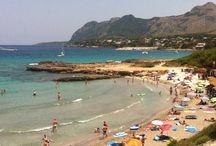 Mallorca stränder / Här samlar vi bilder på Mallorcas vikar och stränder.