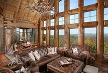 Lodge / Cabin theme / by Jason-Hope Littlefield