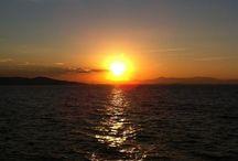Pôr do Sol / Sunset at Ponta dos Ganchos