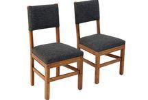 Komplet 2 holenderskich krzeseł z lat 60. / Komplet 2 holenderskich krzeseł z lat 60, po całkowitej rewitalizacji.