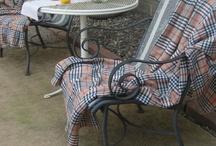 backyard patio ideas / by Andrea Green