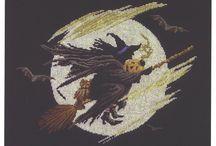 heksen borduren