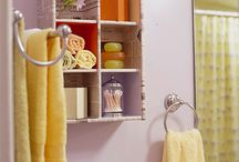 Bathroom Storage Ideas / by Lois Christensen