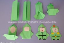 Origami personnages