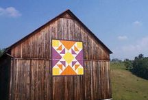 Barn, Barn Quilts and Quilts / by Candy Brewer