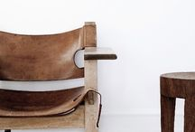 Leather Interior Design / Interior ideas we love with leather
